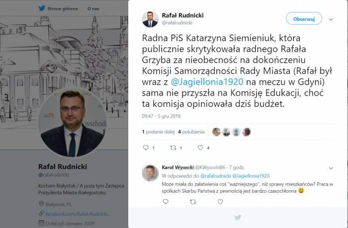 Sekretarka Radnych Się Znalazła To Rafał Rudnicki Białystok Ddb24pl